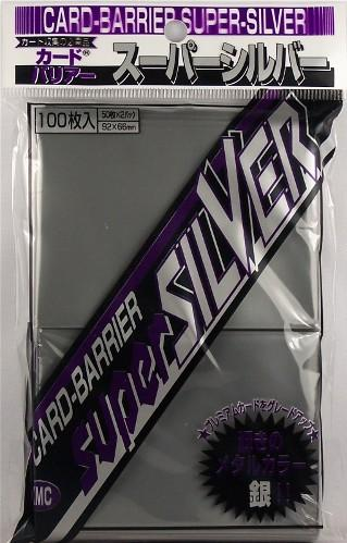 KMC Sleeves: Super Silver 80 count