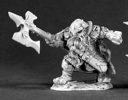 Dark Heaven Legends: Thorvald Clawhelm Dwarf Hero