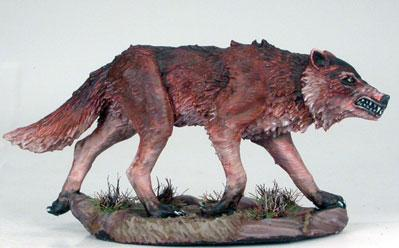 Visions In Fantasy: Hunting Wolf (1)