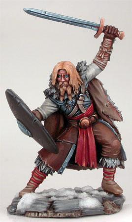 Wildling Warrior w/Long Sword & Shield