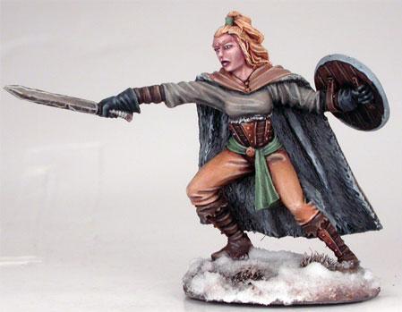 Wildling Spearwife w/Short Sword