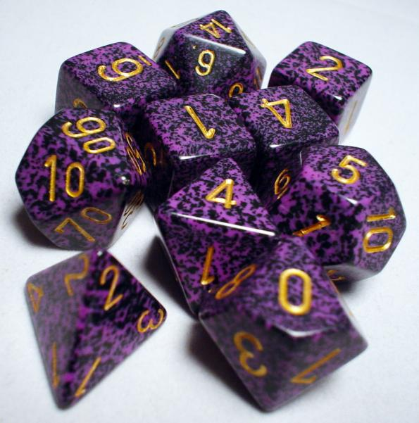 Koplow RPG Dice Sets: Hurricane Polyhedral 10-Die Set