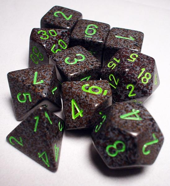 Koplow RPG Dice Sets: Earth Polyhedral 10-Die Set