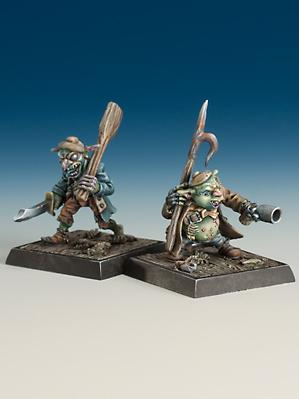 Freebooter Miniatures: Goblin Crew (2)