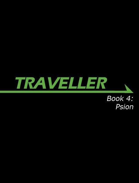 Traveller RPG - Book 4: Psion