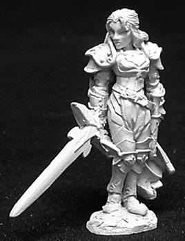 Dark Heaven Legends: Alaine, Female Paladin