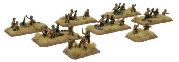 Flames of War: Soviet Mortar Company