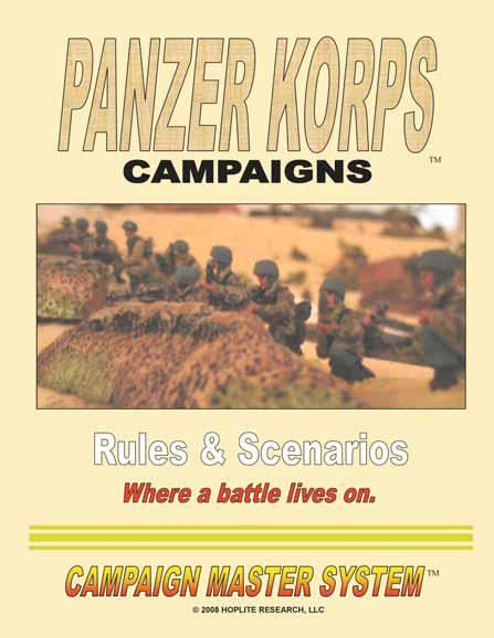 Panzer Korps: Campaigns - Rules and Scenarios