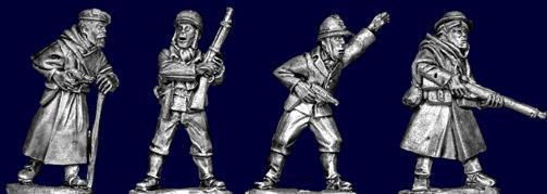 Artizan Designs WWII 28mm: Goumier Command (4)