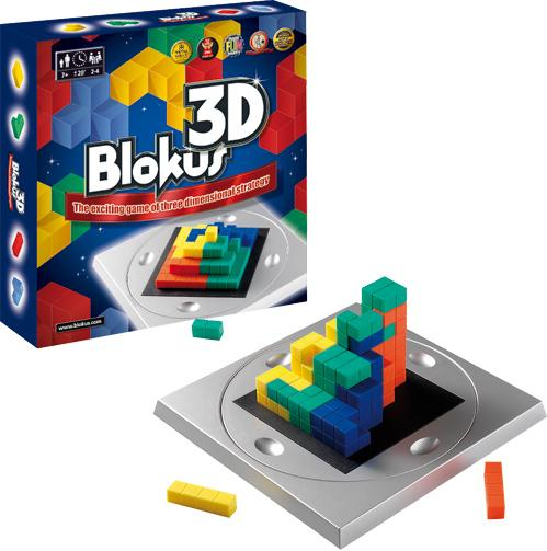 Blokus 3D: The Exciting Game of Three Dimensional Strategy