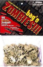 Bag O' Zombies (Glow-in-the-Dark) plastic [100]