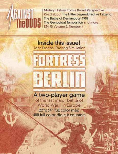 Against the Odds # 8 - Volume 2, Issue 4: Fortress Berlin