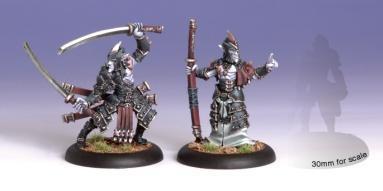 (Legion Of Everblight) Blighted Swordsman Abbot & Champion (2)