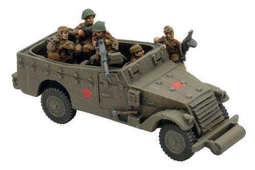 Flames of War: Mounted Razvedki Crew