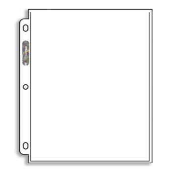Ultra-Pro: 1-Pocket Sheet Protectors (Box of 100 Top-Loading Pages)