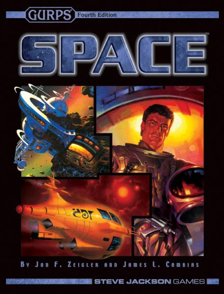GURPS RPG - 4th Edition: Space SC
