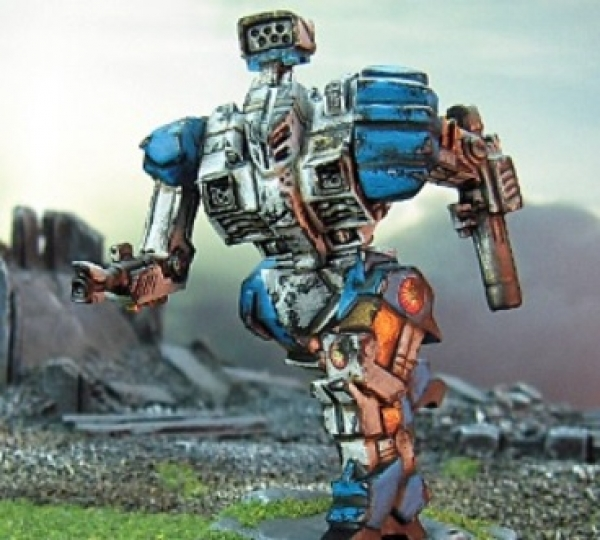 BattleTech Miniatures: Battleaxe BKX-7K (TRO 3075)