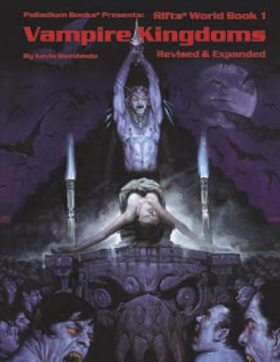 Rifts RPG - World Book One: Vampire Kingdoms (Expanded & Updated)