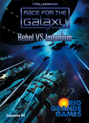 Race For The Galaxy Expansion: Rebel vs. Imperium