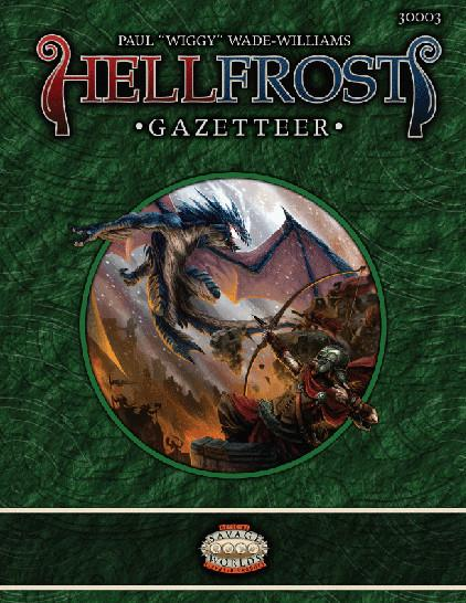 Savage Worlds RPG: Hellfrost Gazetteer