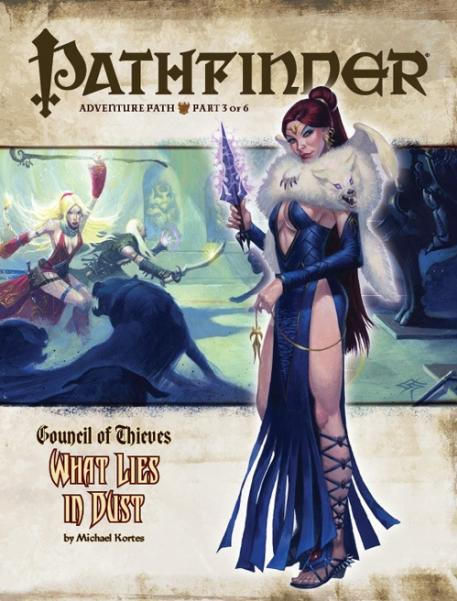 Pathfinder Adventure Path #27: What Lies in Dust (Council of Thieves 3 of 6) (PRPG)