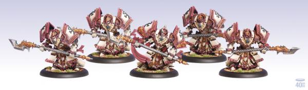 Warmachine: (The Protectorate Of Menoth) Exemplar Bastion Unit