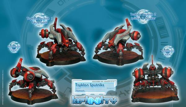 Infinity (#181) Nomads: Tsyklon Sputniks (2)