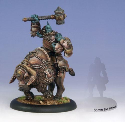 (Trollbloods) Horthol, Long Rider