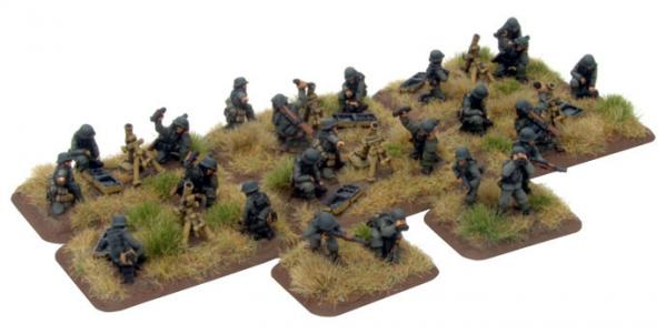 Flames of War: German Grenadier Mortars (late)