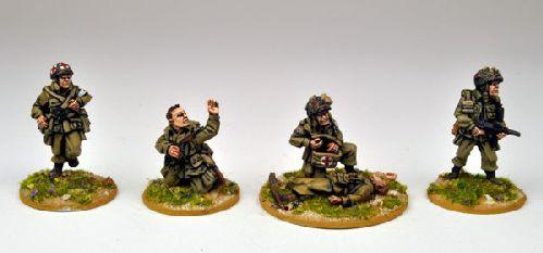 Artizan Designs WWII 28mm: US Airborne Characters and Specialists II (4)