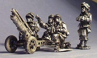 Artizan Designs WWII 28mm: US Airborne 75mm Howitzer and Crew