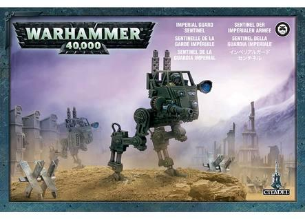 Warhammer 40K: Imperial Guard Sentinel Boxed Set