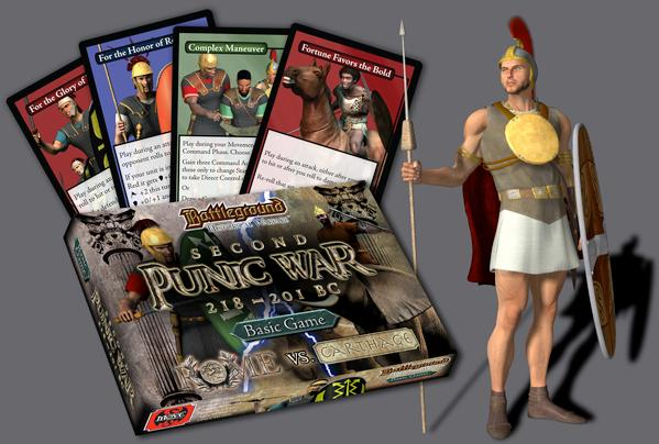 Battleground: (Historical Warfare) Second Punic War Basic Game (Rome vs. Carthage)