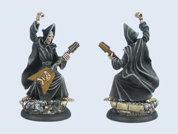 28mm Discworld Miniatures: Death with Guitar