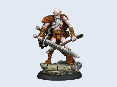 28mm Discworld Miniatures: Cohen the Barbarian
