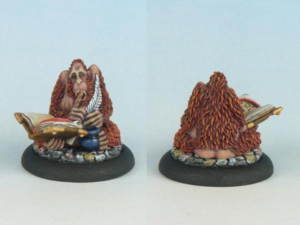 28mm Discworld Miniatures: The Librarian