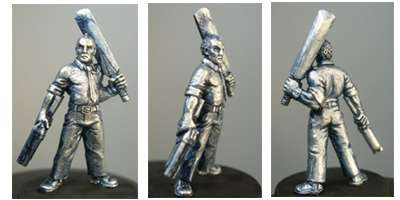 Hasslefree Miniatures: Adventurers (28mm) - Ray, male zombie hunter