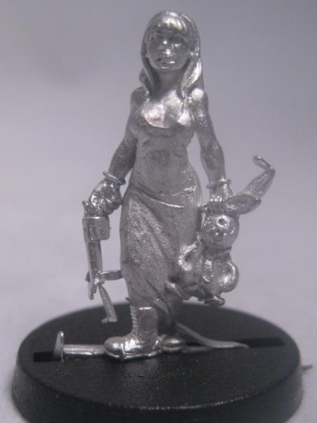 Hasslefree Miniatures: Adventurers (28mm) - Rabbit Killer Alice in boots