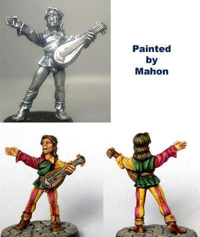 Hasslefree Miniatures: Villagers - Minstrel