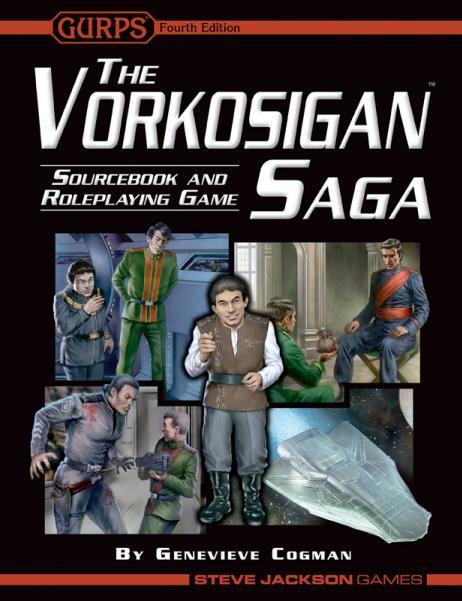 GURPS RPG - 4th Edition: The Vorkosigan Saga Sourcebook and RPG