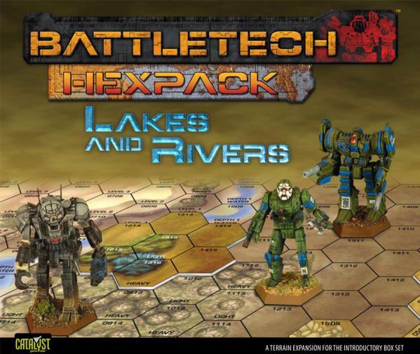 Classic BattleTech: HexPack - Lakes & Rivers