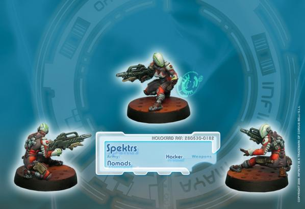 Infinity (#182) Nomads: Spektrs (Hacker) (1)