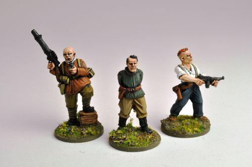 28mm Thrilling Tales (Pulp): A Very Private Army (3)
