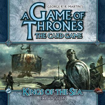 A Game of Thrones LCG: Kings of the Sea Expansion Box Set