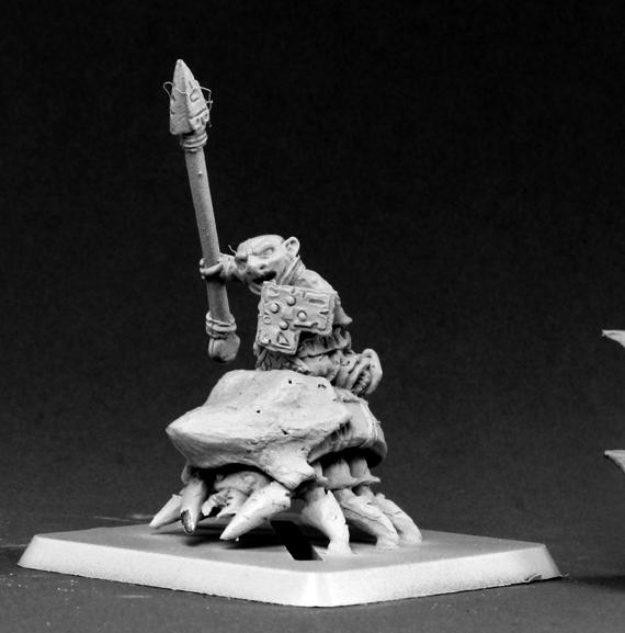 Warlord: Bloodstone Gnome Beetle Rider Lancer