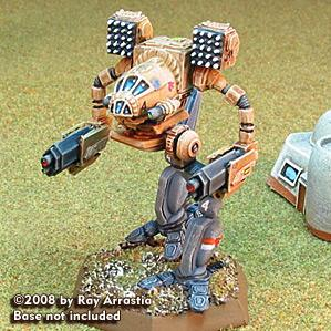 BattleTech Miniatures: Madcat (resculpt)