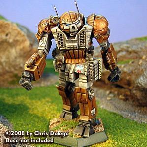 BattleTech Miniatures: Atlas Heavy Mech (resculpt)