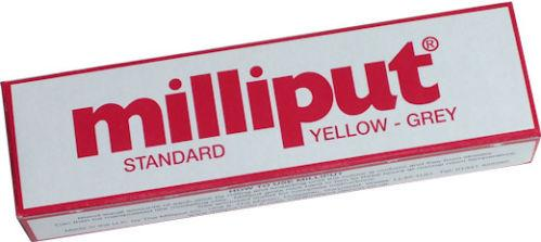 Miniature Accessories: Standard Yellow-Grey Milliput Epoxy Putty