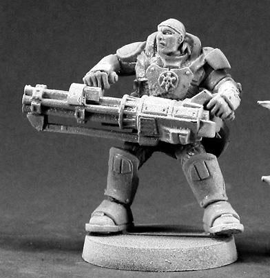 P-65 Heavy Metal: Reggie Van Zandt, IMEF Heavy Gunner