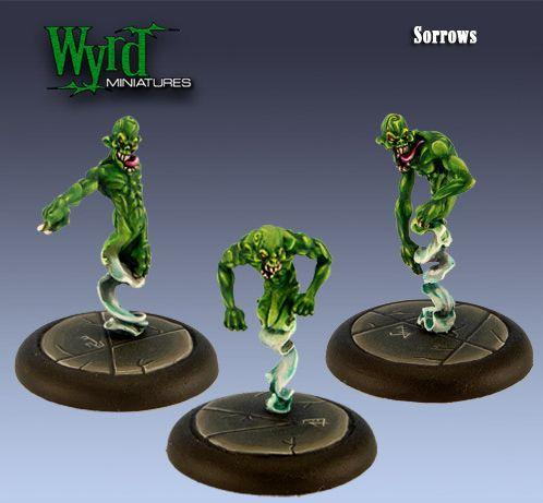 Malifaux 32mm: Sorrows (3 pack)